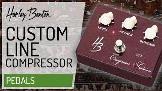 Harley Benton - Custom Line - CS-5 Compressor - Presentation -