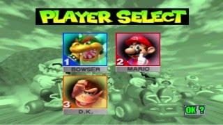 Mario Kart 64 - Part 1 - Mushroom Cup (3P) - Bowser (Davtoa), Mario (Mathtoa) & Donkey Kong (MC.Kid)