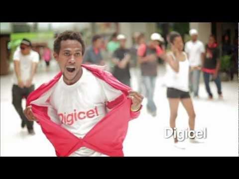 Digicel PNG Flashmob