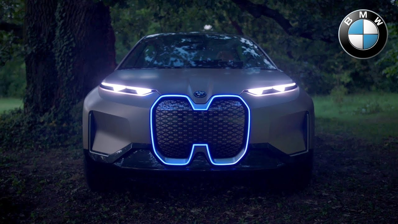 BMW Vision iNext Design Introduction - YouTube