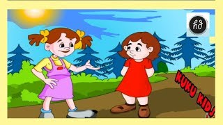 Let's Talk In English - Educative Video For Children - Animated Version