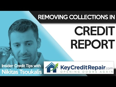 fixing credit score after collections