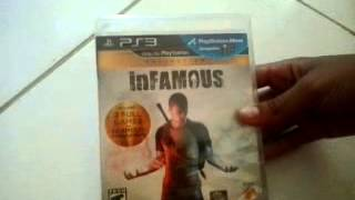 Unboxing InFamous Collection PS3 - AIKADE