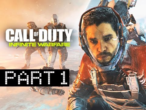 Call of Duty Infinite Warfare Walkthrough Part 1 -  First Hour! (Let's Play Commentary)