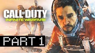 Call of Duty Infinite Warfare Walkthrough Part 1 -  First Hour! (Let