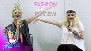 Raja & Raven's Fashion Photo RuView - RuPaul's DragCon 2015