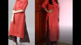 Must Buy & Affordable Kurta Plazzo set from Myntra under rs. 750 | Try o haul | Genuine Reviews