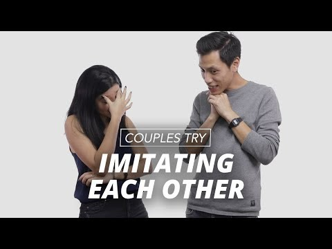 Couples Imitate Each other