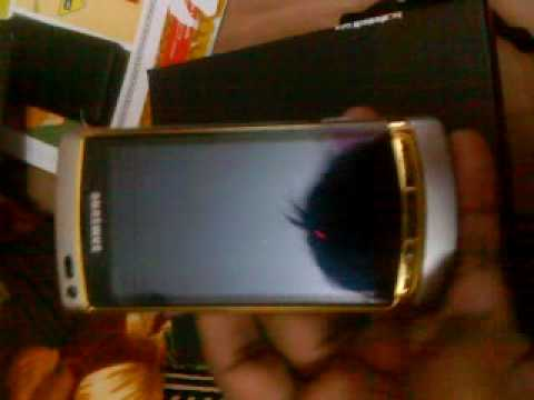 samsung omnia i8910 hd Gold Edition with special accessories