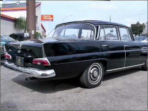 1961 mercedes benz 220 winter park fl youtube for Mercedes benz winter park florida