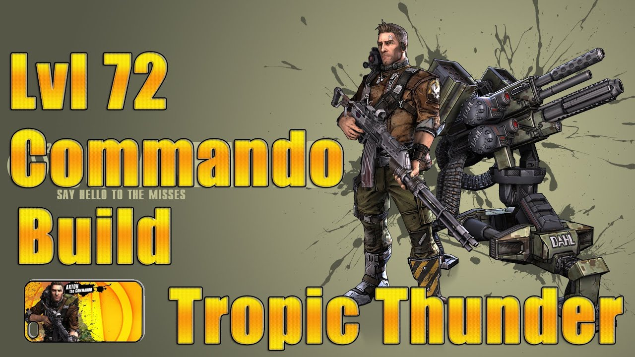 Borderlands  Commando Explosive Build