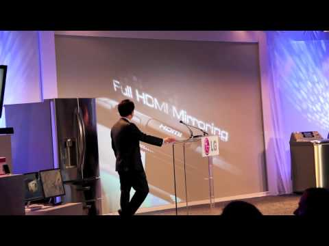 LG Optimus Speed Intro during LG Press Conference at CES 2011