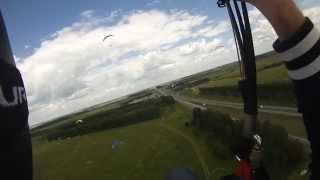 Параплан обучение. Paragliding lessons. Посадка в трафике. Landing in traffic.