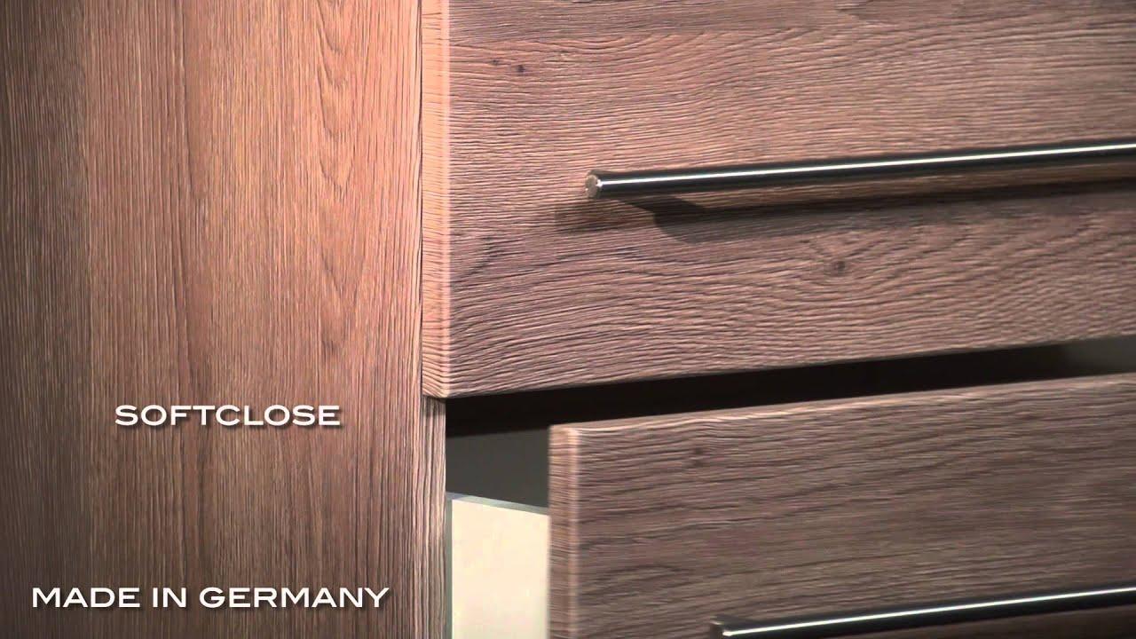 badm bel mars 600 slimline eiche hell reuniecollegenoetsele. Black Bedroom Furniture Sets. Home Design Ideas