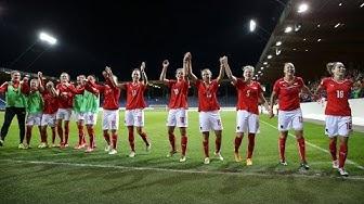 Österreich Frauen vs Kasachstan Frauen (UEFA EM Quali 2017 in Steyr)