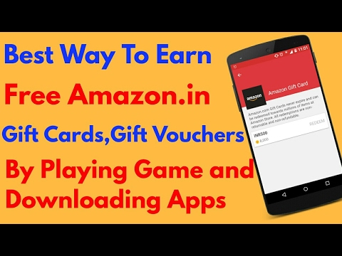 How to || Earn free Amazon.in Gift Cards Just by playing some ...