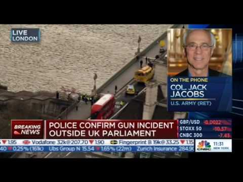 CNBC Europe, Breaking News, 22.03.2017, London Attacks