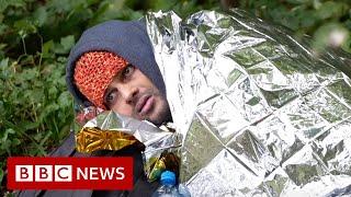 Migrants freezing to death on Belarus-Poland border - BBC News