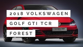2018 Volkswagen Golf GTI TCR Concept First Look & Review