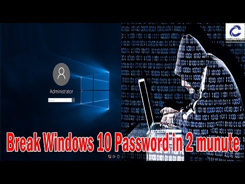 Hack Windows 10 In 2 Minute | Break Windows Administrator Password | Be Aware From This Tricks ...