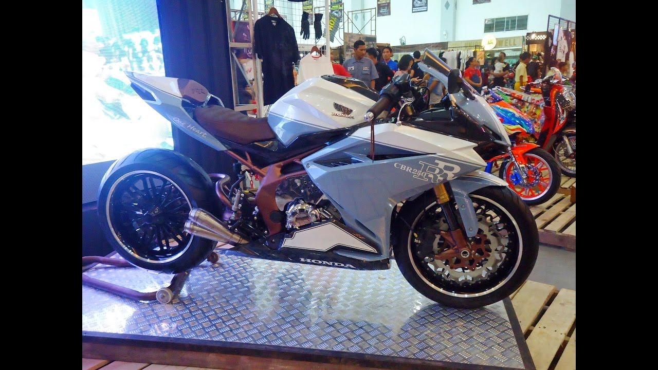 Full Custom All New Honda CBR250RR Modifikasi Konsep Cowboy