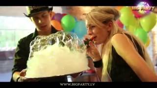 """Шоу мыльных пузырей """"BigParty! (Riga,Latvia) детский праздник!"""