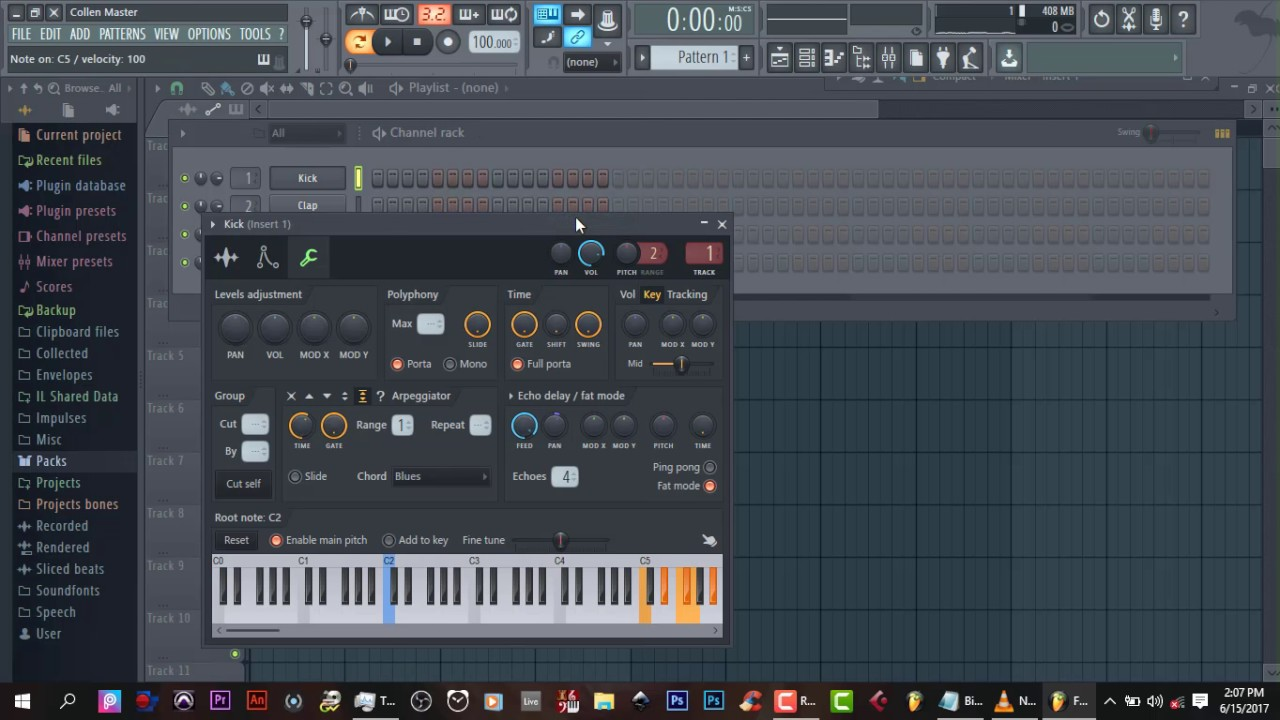 how to add synths to fl studio