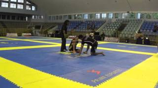 Dimitrius Souza X Romulo Azevedo - Brasileiro de Jiu-Jitsu Sem Kimono 2015 - Final