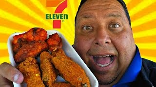 7-Eleven® 10 for $5 Chicken Wings REVIEW!!!