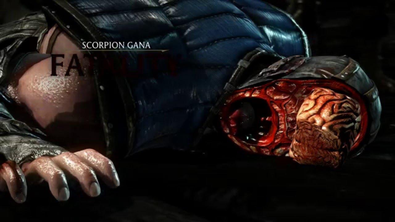 Mortal Kombat X Scorpion Fatality 1 60fps 1080p Mkx True Hd