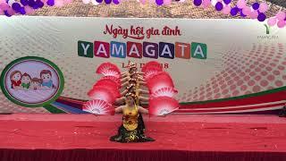 Múa Quê Tôi - Thùy Chi. Ngày hội gia đình Yamagata 2018