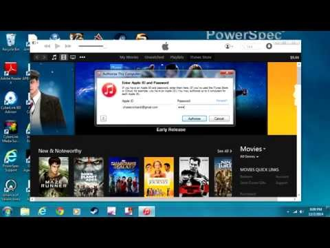 How To Authorize Your Itunes Account On PC 2014-15