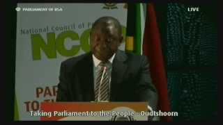 Plenary: Taking Parliament to the People, Friday 17 April 2015