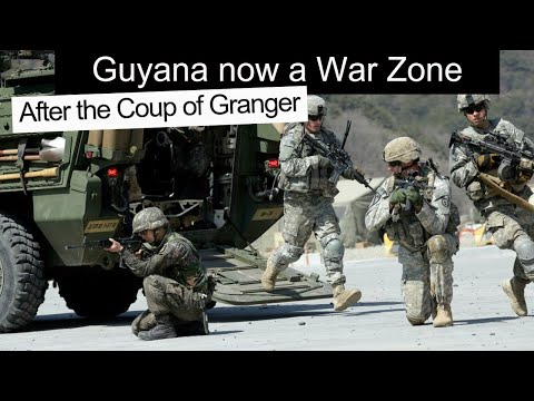 Guyana now a War Zone, US back for Oil and to Topple Venezuela, THIS IS DANGEROUS for Guyana