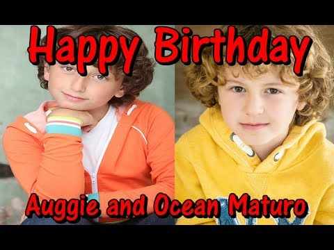 Happy Birthday August and Ocean Maturo  STORY OF MY LIFE
