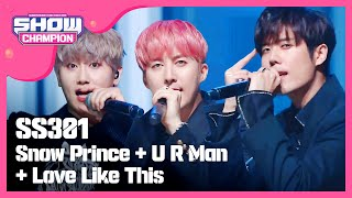 Snow Prince+U R Man+Love Like This