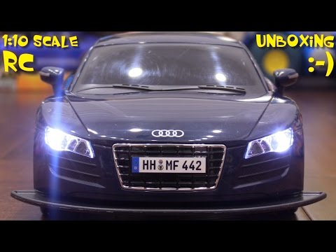 Toy Cars for Kids: Unboxing an Audi R8 Remote Control Car w/ Hulyan. Plus more Toys!