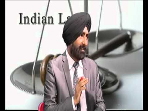 280612 Indian Law with Advocate Balwinder Singh Turna