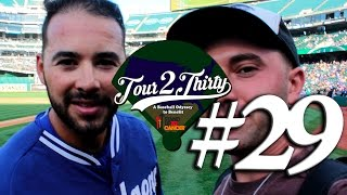 Tour 2 Thirty - Ballpark #29 of 30 - o.Co Coliseum [Athletics vs. Dodgers]