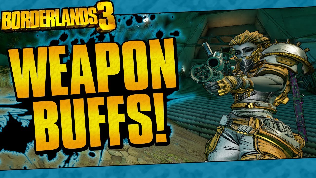 Borderlands 3 | Many Weapon Buffs! (Fastball, Lucian's Call, And More!) thumbnail