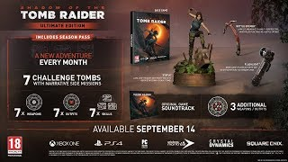 Shadow of the Tomb Raider Ultimate Edition Announced