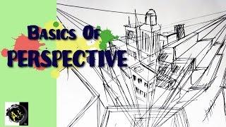"Basics Of ""PERSPECTIVE"" for DRAWING ...Fundamentals of visual arts#ep3"
