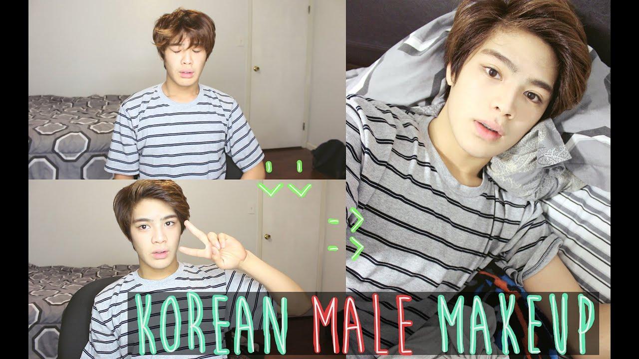 Kpop Makeup For Guys Korean Male Mak...