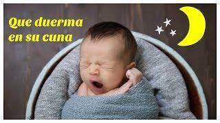 que hacer para que el bebe se duerma solo