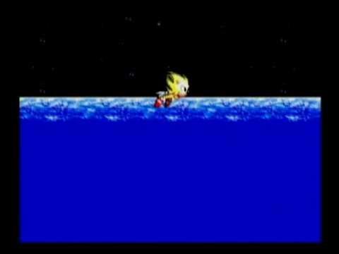 Sonic the Hedgehog 2: Final Boss with Super Sonic  