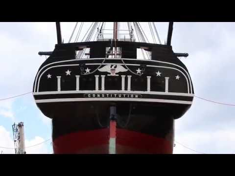 A Final Look at USS Constitution in Dry Dock 1