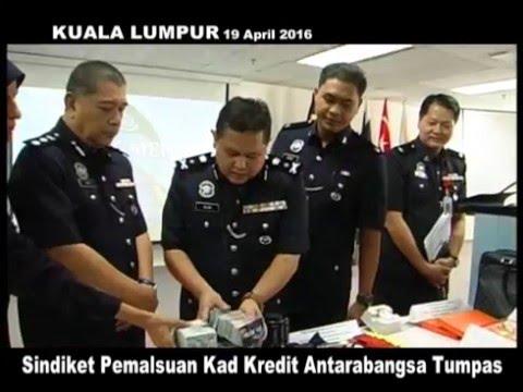 MKL Crimedesk | Sindiket Pemalsuan Kad Kredit Antarabangsa, Tumpas