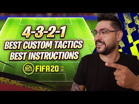 FIFA 20 BEST FORMATIONS 4-3-2-1 TUTORIAL - BEST TACTICS & INSTRUCTIONS / 4-3-2-1 GUIDE