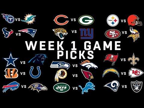 Week 1 NFL Game Picks