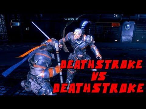 Batman Arkham Origins Deathstroke VS Deathstroke Mod